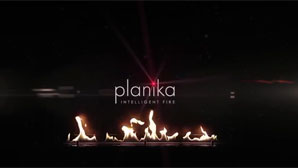 Ethanol fireplace by Planika on Serenity yacht by Mondomarine